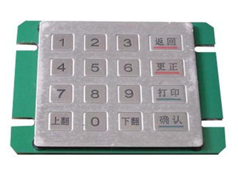 多功能液晶触控密码键盘